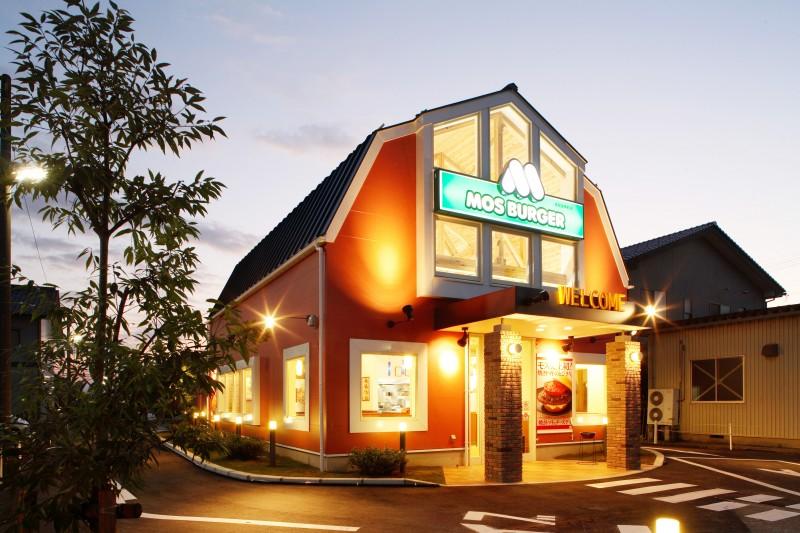 モスバーガー 高岡美幸町店