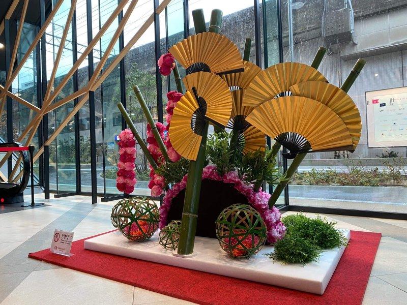 クロスゲート金沢 新春装飾